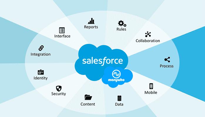 tính năng phần mềm salesforce