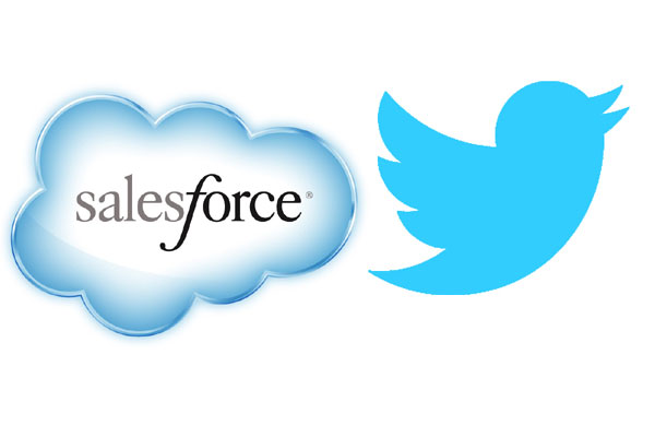 Salesforce va twitter